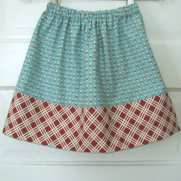 10 Free Skirt Patterns for Girls - Premeditated Leftovers