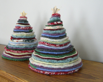 елочки Thrifted-holiday-trees-3
