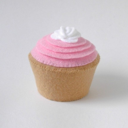felt cupcakes « Flapper Girl