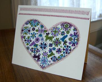sewn-card