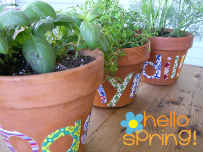 Spring is almost here Start a childrens herb garden dont be