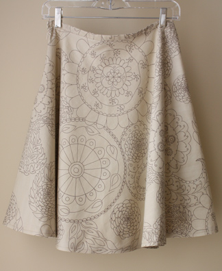 A Pattern for a Skirt
