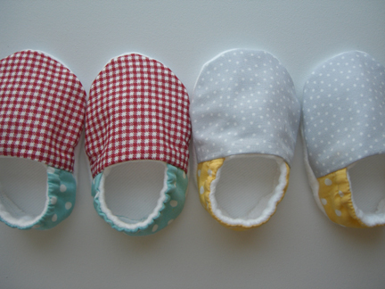 I Made Some Little Baby Shoes For Twins Yesterday A Boy And Girl Oh Are The Sweetest Aren T They Same Pattern That Mentioned