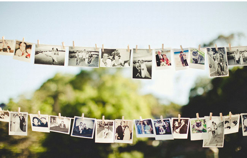 members in their garden wedding d cor I love this DIY wedding project