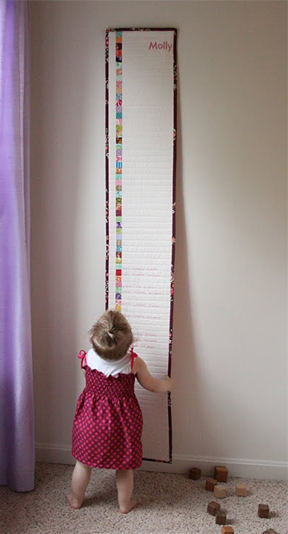 Guest Post Embroidered Growth Chart The Long Thread