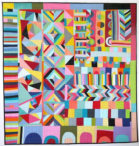 Amazing Quilts: Improvisational Quilting