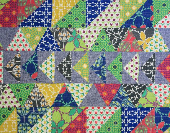 Folk Modern Quilt 32