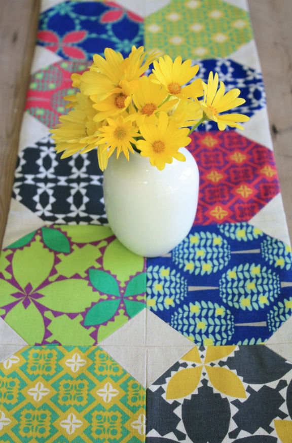 Folk Modern Table Runner