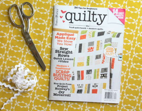 Quilty Magazine Cover