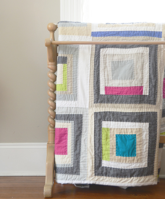 Lopsided Squares Quilt