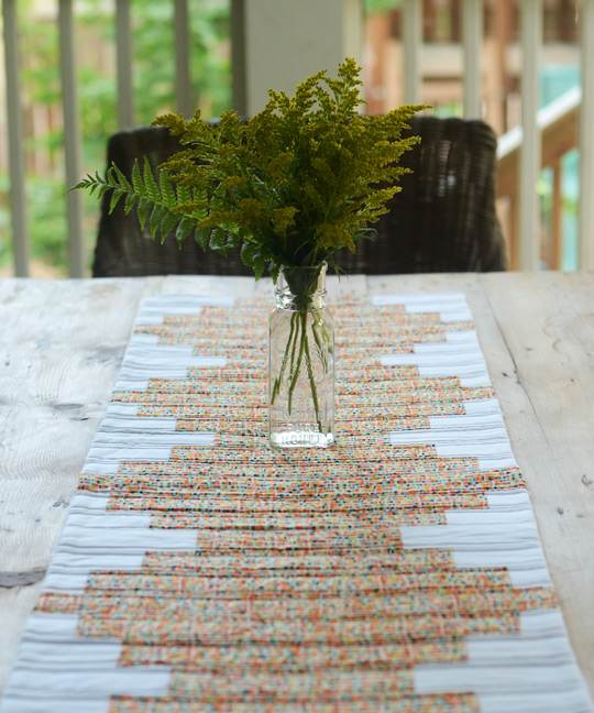 Stacked Table Runner
