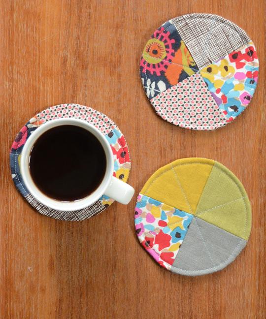 Quarter-Circle Coasters