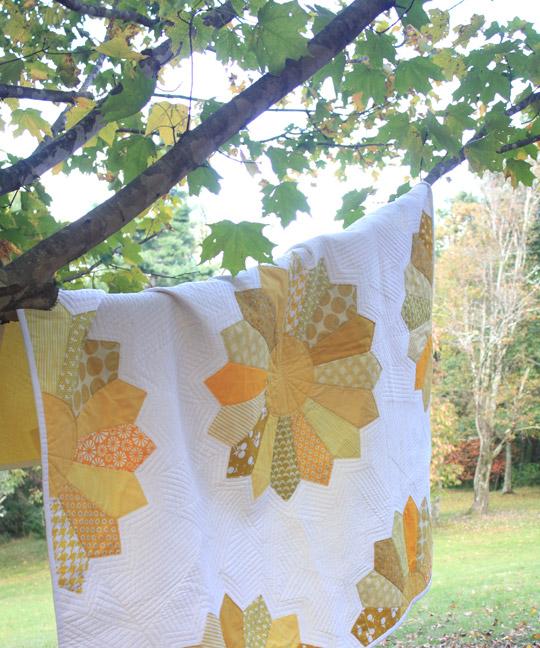 Dresden Flower Quilt