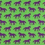 Folk-Modern-Horses Green