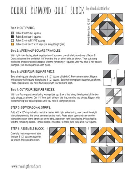 double-diamond-instructions