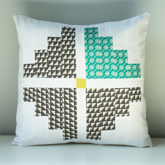Cross Pillow by Nancy Purvis