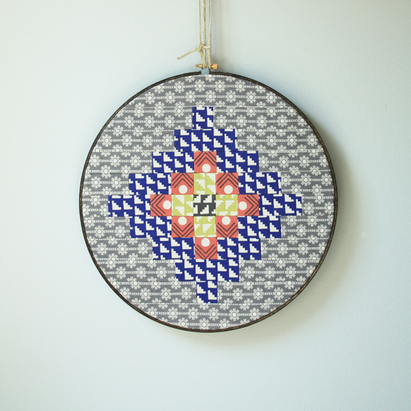 Embroidery Hoop by Nancy Purvis