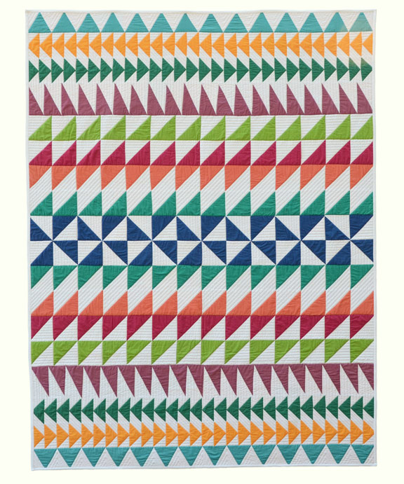 Triangles-Quilt
