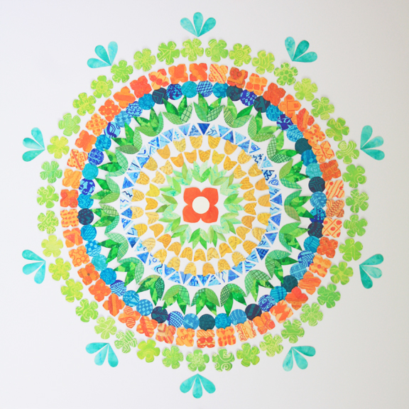 bloom mandala