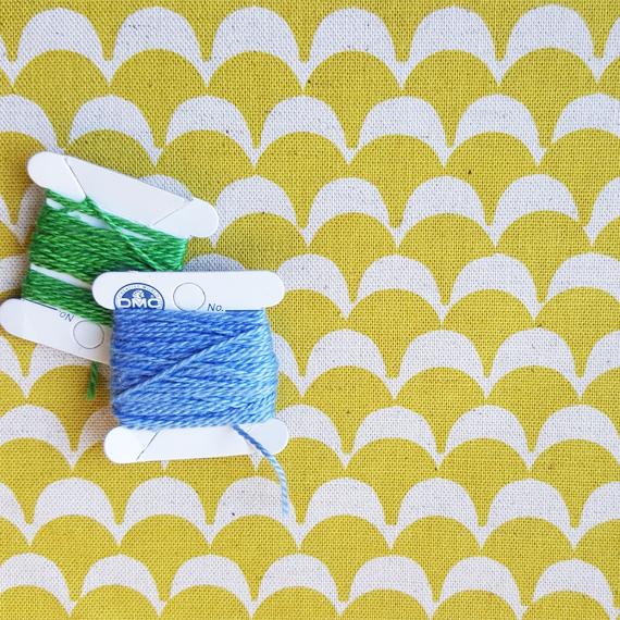 scallops fabric