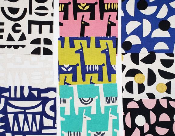 Stencil Fabric Collection